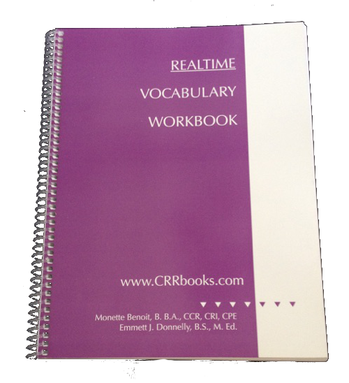 RealTime Vocabulary Workbook – RPR, RDR, State CSR, and NY Civil ...